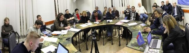 Участники круглого стола «Выборы в Московской области 7 февраля: предварительные оценки и прогнозы»