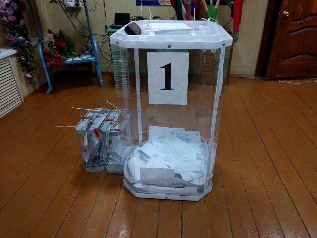 урны перед окончанием голосвания