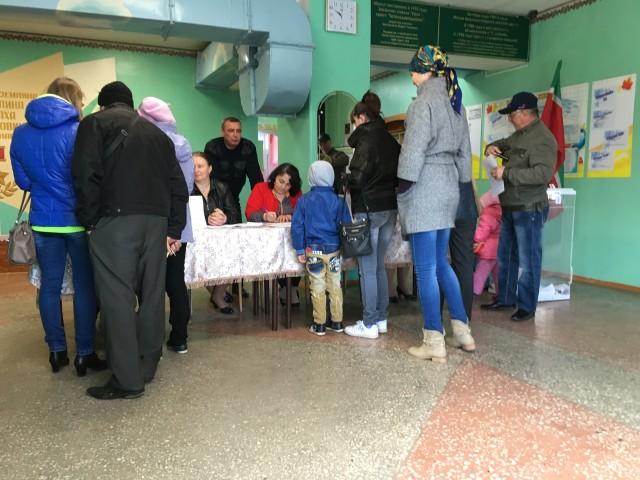 Голосование на УКР 1154. Фото: А.Грезев