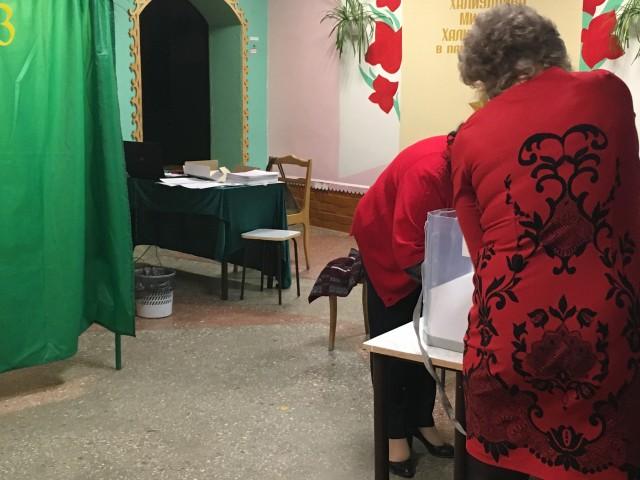 Подсчет голосов. Фото: А.Грезев
