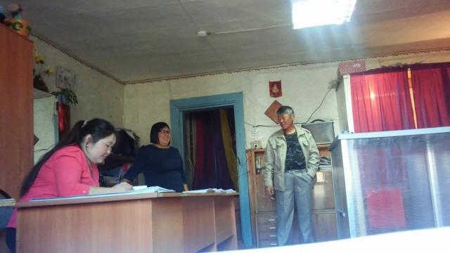 Голосование в Усть-Ордынском бурятском округе. Фото: А.Петров