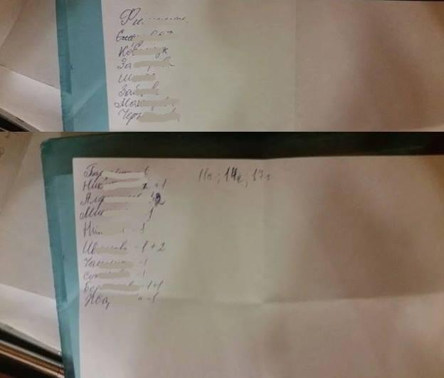 Списки проголосовавших избирателей, фото Михаила Каленкова