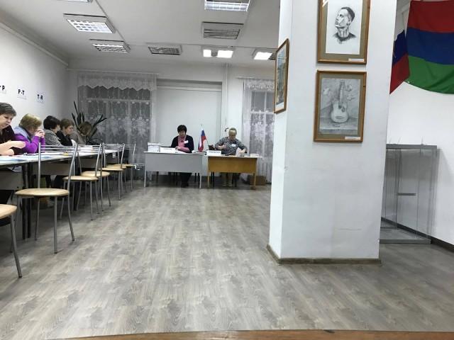УИК 241, фото: А. Грезев