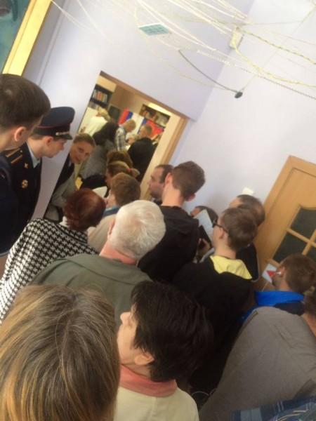 На 265 УИКе аномальное голосование по открепительным
